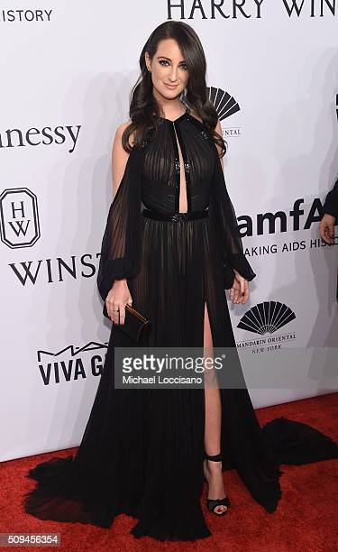 Stylist Micaela Erlanger attends 2016 amfAR New York Gala at Cipriani Wall Street on February 10 2016 in New York City