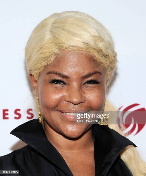Stylist Misa Hylton attends Dress for Success Honors Mothers of Jordin Sparks and Robin Meade at Grand Hyatt New York on April 11 2013 in New York...