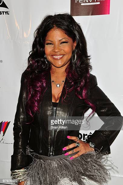 Stylist Misa Hylton attends the 2010 Blackout Awards at the Key Club on March 21 2010 in Newark New Jersey