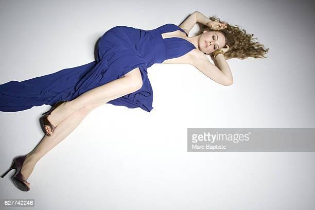 Monica Schweiger Hair Johnny Stuntz Makeup Kerry Maloof Dress by MEcoganik earrings by Sid Vintage ring by Nola Singer shoes by Stella McCartney
