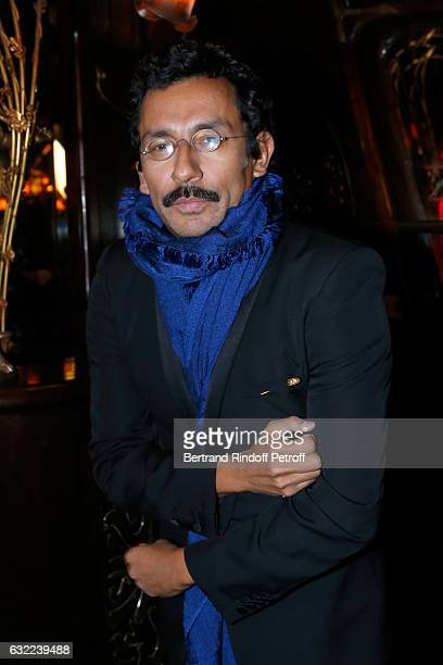 Stylist of Berluti Men Haider Ackermann attends the Berluti Dinner as part of Paris Fashion Week Menswear F/W 20172018 Held at Maxim's on January 20...