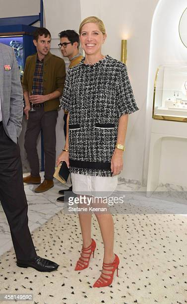 Stylist Petra Flannery attends the Irene Neuwirth Flagship Grand Opening on October 30 2014 in West Hollywood California