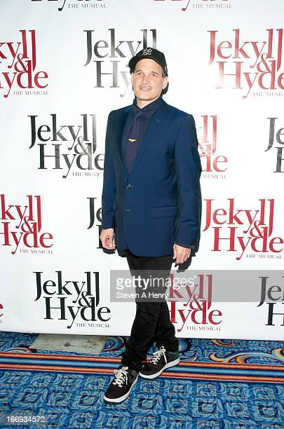 Stylist Phillip Bloch attends the Broadway opening night of Jekyll Hyde The Musical at the Marquis Theatre on April 18 2013 in New York City