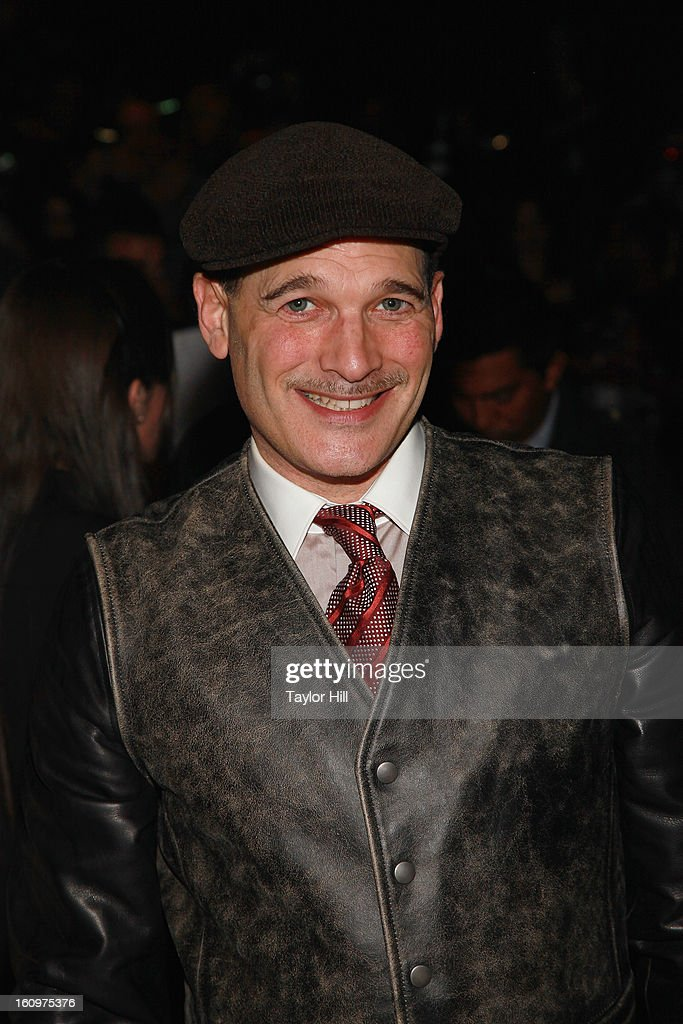 Stylist Phillip Bloch attends the Project Runway Fall 2013 Mercedes-Benz Fashion Show at The Theater at Lincoln Center on February 8, 2013 in New York City.
