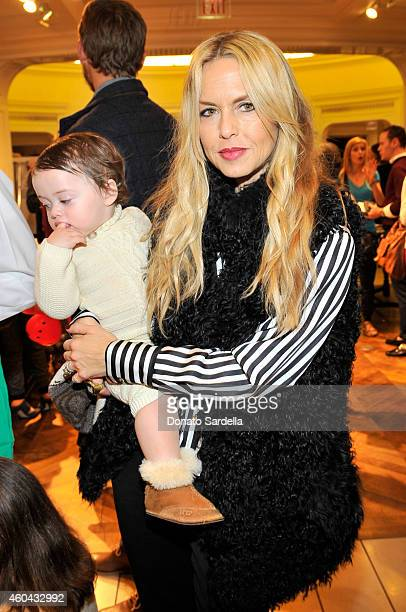 Stylist Rachel Zoe and son Kaius Jagger Berman attend as Brooks Brothers celebrates the holidays with St Jude Children's Research Hospital and Town...