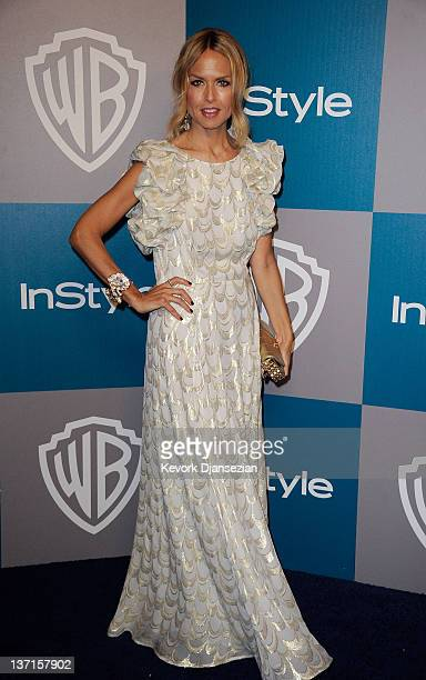 Stylist Rachel Zoe arrives at 13th Annual Warner Bros And InStyle Golden Globe Awards After Party at The Beverly Hilton hotel on January 15 2012 in...