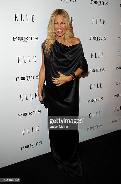 Stylist Rachel Zoe arrives at ELLE Women In Television event at Soho House on January 27 2011 in West Hollywood California