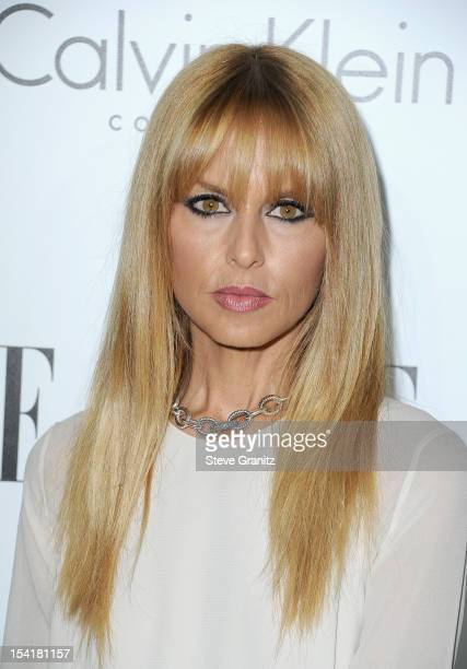 Stylist Rachel Zoe arrives at ELLE's 19th Annual Women In Hollywood Celebration at the Four Seasons Hotel on October 15 2012 in Beverly Hills...