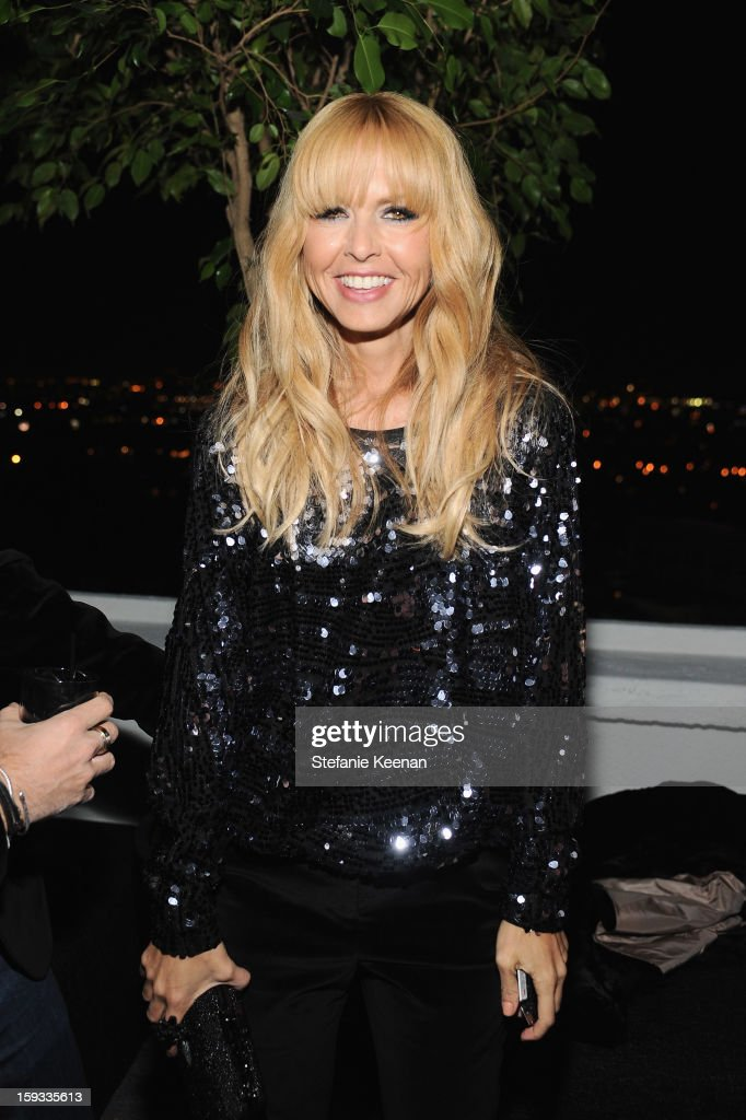 Stylist Rachel Zoe attends Dom Perignon and W Magazine's celebration of The Golden Globes at Chateau Marmont on January 11, 2013 in Los Angeles, California.
