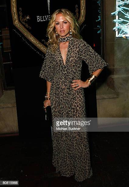 Stylist Rachel Zoe attends Jade Jagger's unveiling of Bevledere's Jagger Dagger at the Chateau Marmont on April 21 2008 in Hollywood California