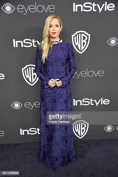 Stylist Rachel Zoe attends the 18th Annual PostGolden Globes Party hosted by Warner Bros Pictures and InStyle at The Beverly Hilton Hotel on January...