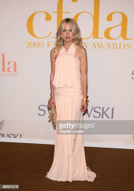 Stylist Rachel Zoe attends the 2009 CFDA Fashion Awards at Alice Tully Hall Lincoln Center on June 15 2009 in New York City
