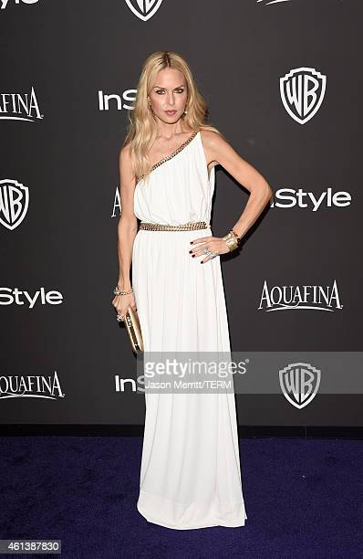 Stylist Rachel Zoe attends the 2015 InStyle And Warner Bros 72nd Annual Golden Globe Awards PostParty at The Beverly Hilton Hotel on January 11 2015...