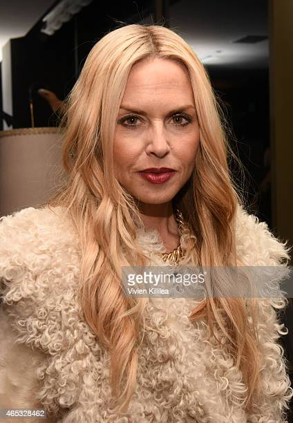 Stylist Rachel Zoe attends the Established Jewelry By Nikki Erwin Launch Party Hosted By Erin Sara Foster on March 5 2015 in West Hollywood California