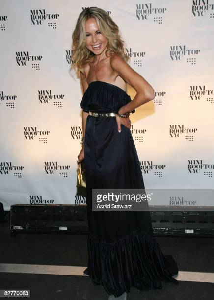 """Stylist Rachel Zoe attends the """"Mini Rooftop NYC"""" Hosts V Magazine Celebration at One Space on September 10, 2008 in New York City"""