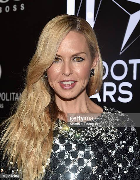 Stylist Rachel Zoe attends the W Magazine Shooting Stars Exhibit Opening at Wilshire May Company Building on January 9 2015 in Los Angeles California