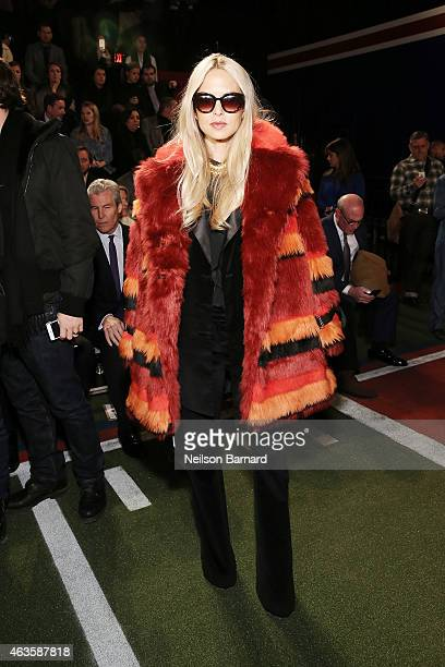 Stylist Rachel Zoe attends Tommy Hilfiger Presents Fall 2015 Women's Collection during MercedesBenz Fashion Week Fall 2015 at Park Avenue Armory on...