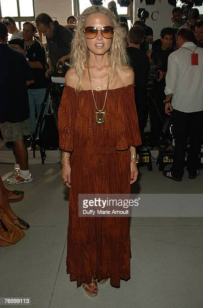 Stylist Rachel Zoe front row at the Rodarte Spring 2008 show during Mercedes-Benz Fashion Week Spring 2008 at 548 West 22nd street on September 8,...