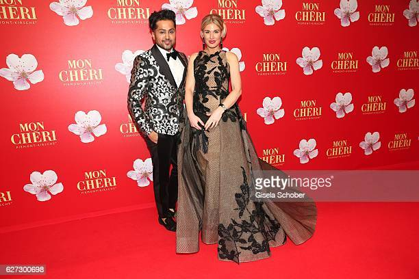 Stylist Sam Samuel Sohebi and Hofit Golan during the Mon Cheri Barbara Tag 2016 at Postpalast on December 2 2016 in Munich Germany