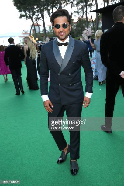 Stylist Samuel Sohebi during the cocktail at the amfAR Gala Cannes 2018 at Hotel du CapEdenRoc on May 17 2018 in Cap d'Antibes France