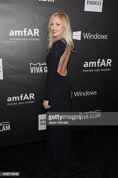 Stylist Shea Marie attends the 2014 amfAR LA Inspiration Gala at Milk Studios on October 29 2014 in Hollywood California
