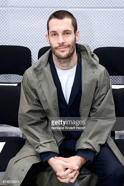 Stylist Simon Porte Jacquemus attends the Balenciaga show as part of the Paris Fashion Week Womenswear Fall/Winter 2016/2017 on March 6 2016 in Paris...