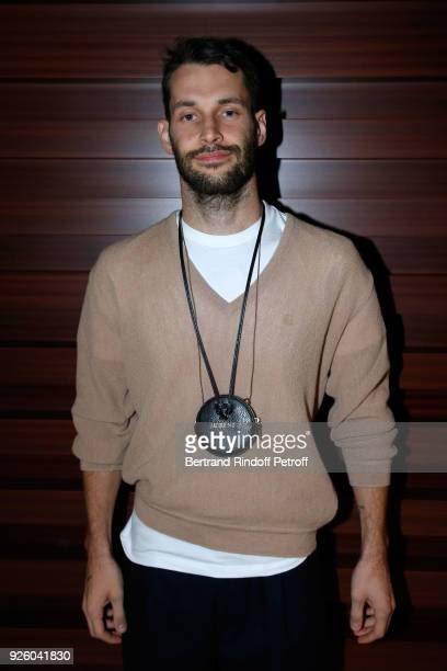 Stylist Simon Porte Jacquemus attends the LVMH Prize 2018 Designers Presentation on March 1 2018 in Paris France
