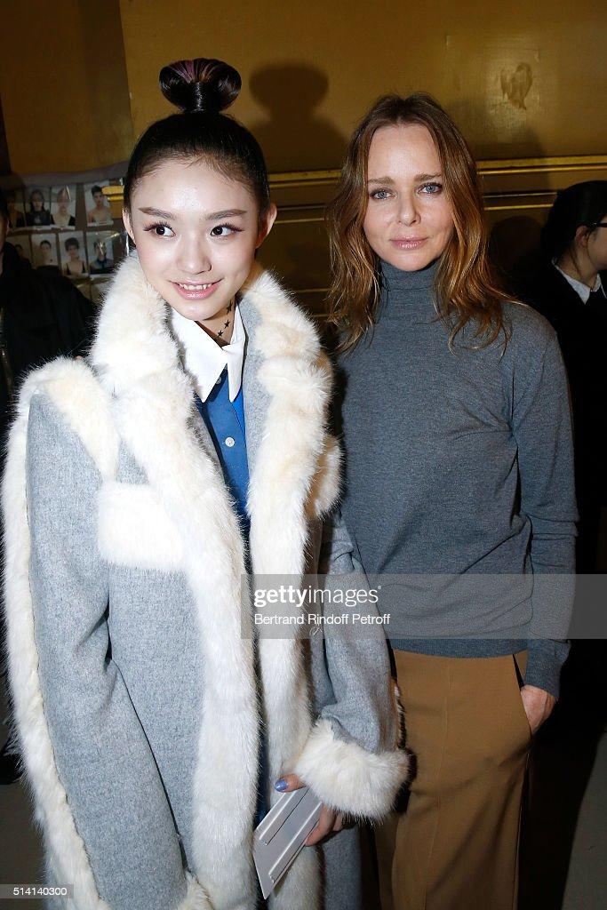 Stella McCartney : Backstage - Paris Fashion Week Womenswear Fall/Winter 2016/2017