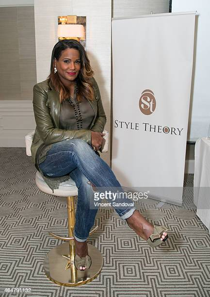 Stylist Tameka Raymond attends her Style Theory tour at The London West Hollywood on February 28 2015 in West Hollywood California