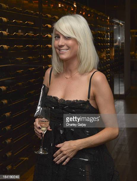 Stylist Taylor Jacobsen attends GenArt's 14th Annual Fresh Faces In Fashion Intimate Dinner at Andaz on October 15 2012 in West Hollywood California