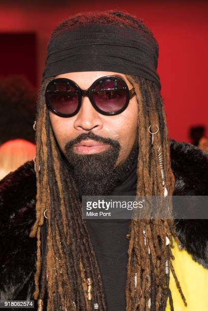 Stylist Ty Hunter attends The Blonds fashion show during New York Fashion Week The Shows at Spring Studios on February 13 2018 in New York City