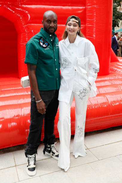 FRA: Louis Vuitton : Front Row - Paris Fashion Week - Menswear Spring/Summer 2020