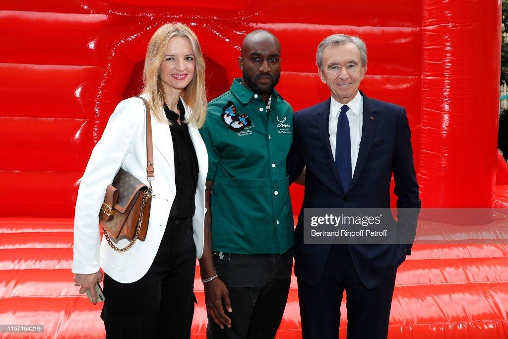 Louis Vuitton : Front Row - Paris Fashion Week - Menswear Spring/Summer 2020 : ニュース写真