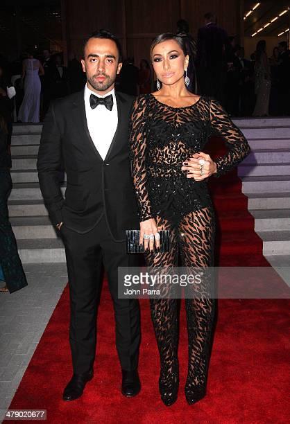 Stylist Yan Acioli and TV Personality Sabrina Sato attend the third annual BrazilFoundation Gala Miami at Perez Art Museum Miami on March 15 2014 in...