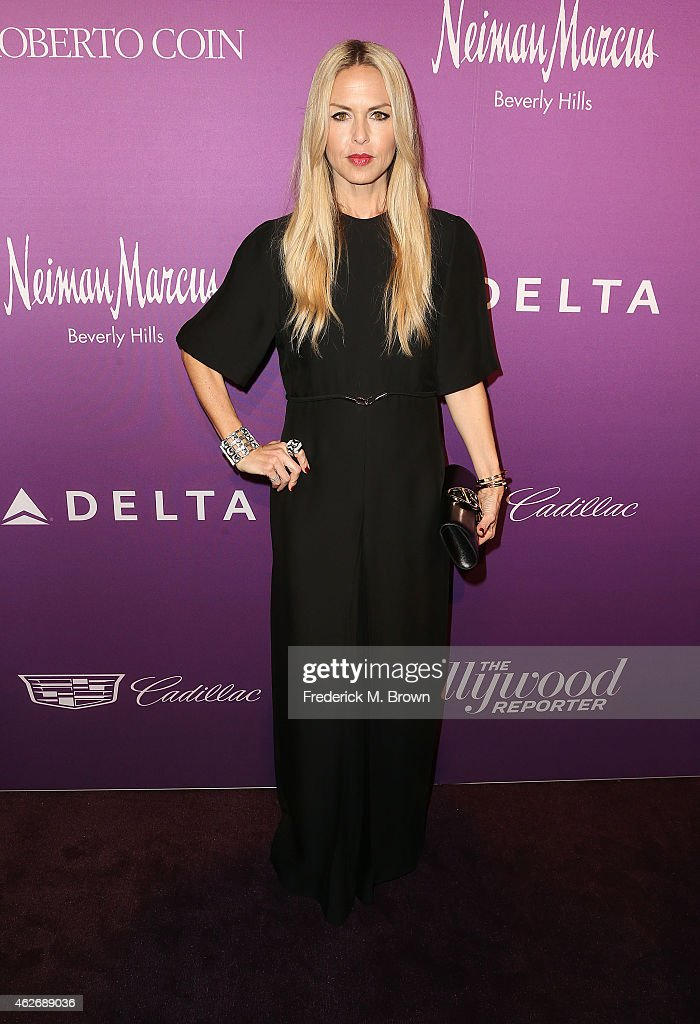Stylist/Designer Rachel Zoe attends The Hollywood Reporter's Annual Oscar Nominees Night Party at Spago on February 2, 2015 in Beverly Hills, California.