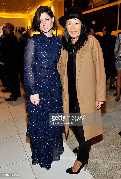 Stylists Ilaria Urbinati and Jeanne Yang attend the Giorgio Armani special celebration honoring Martin Scorsese and Paolo Sorrentino hosted by...