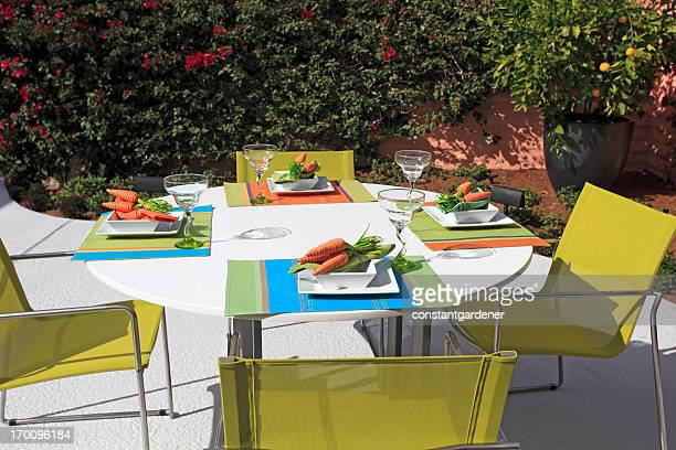 Stylized Summer Table Setting