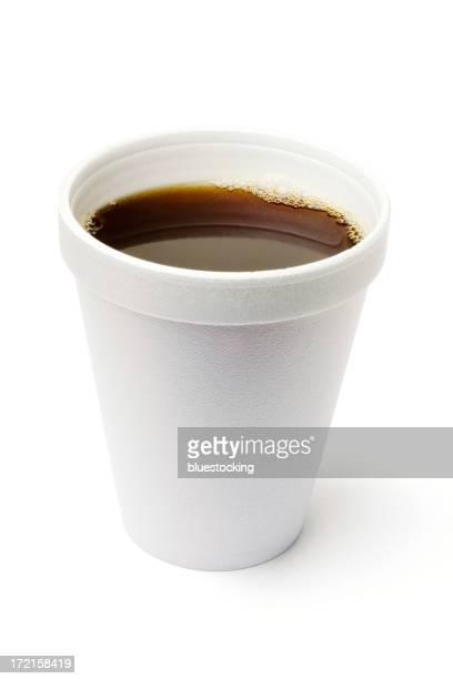 Tasse de café avec un Tracé de détourage