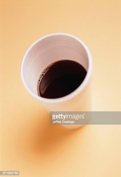 Styrofoam Cup of Coffee