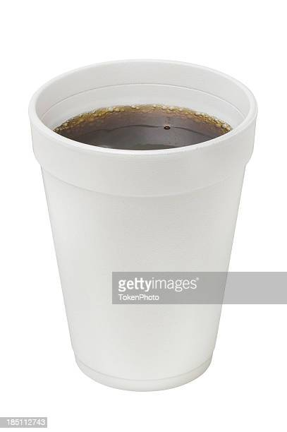 styrofoam cup - styrofoam stock photos and pictures
