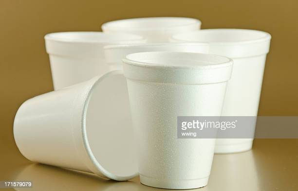 styrofoam cups - polystyrene stock pictures, royalty-free photos & images