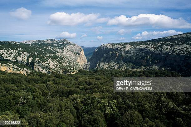 Su Gorroppu Gorge Gulf of Orosei and Gennargentu National Park Sardinia Italy