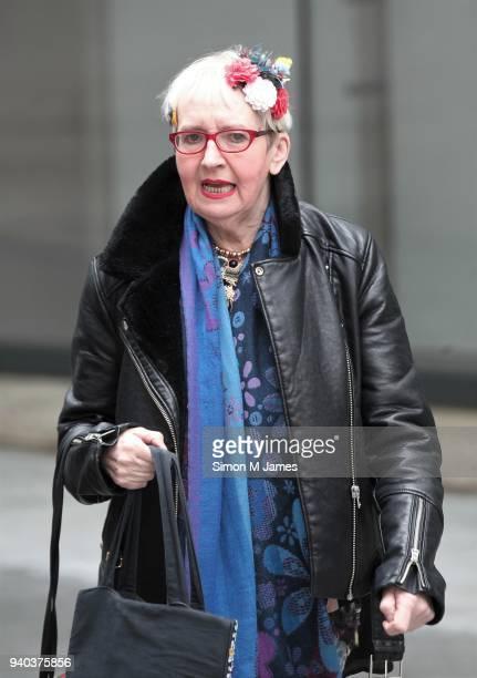 Su Pollard seen at the BBC Studios on March 31 2018 in London England