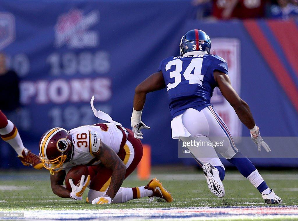 Washington Redskins v New York Giants