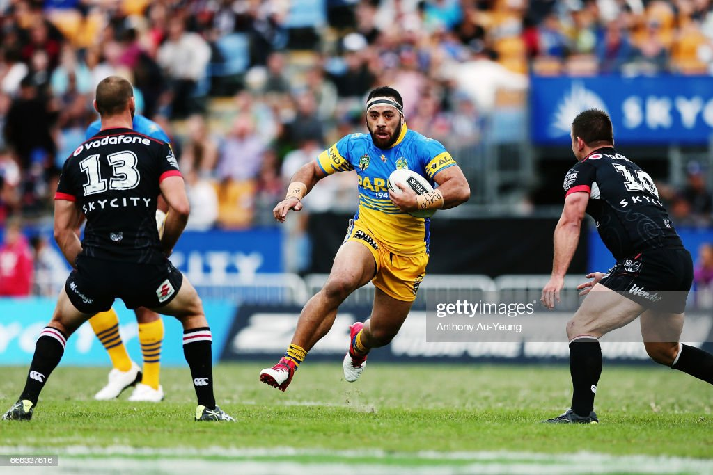 NRL Rd 6 - Warriors v Eels : News Photo