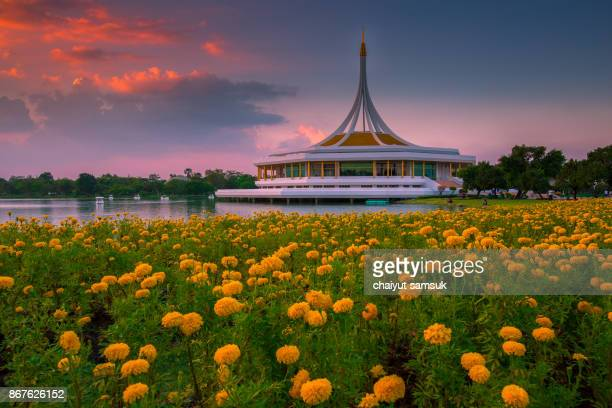 Suanluang RAMA IX Public Park and botanical garden,the largest in Bangkok,Thailand