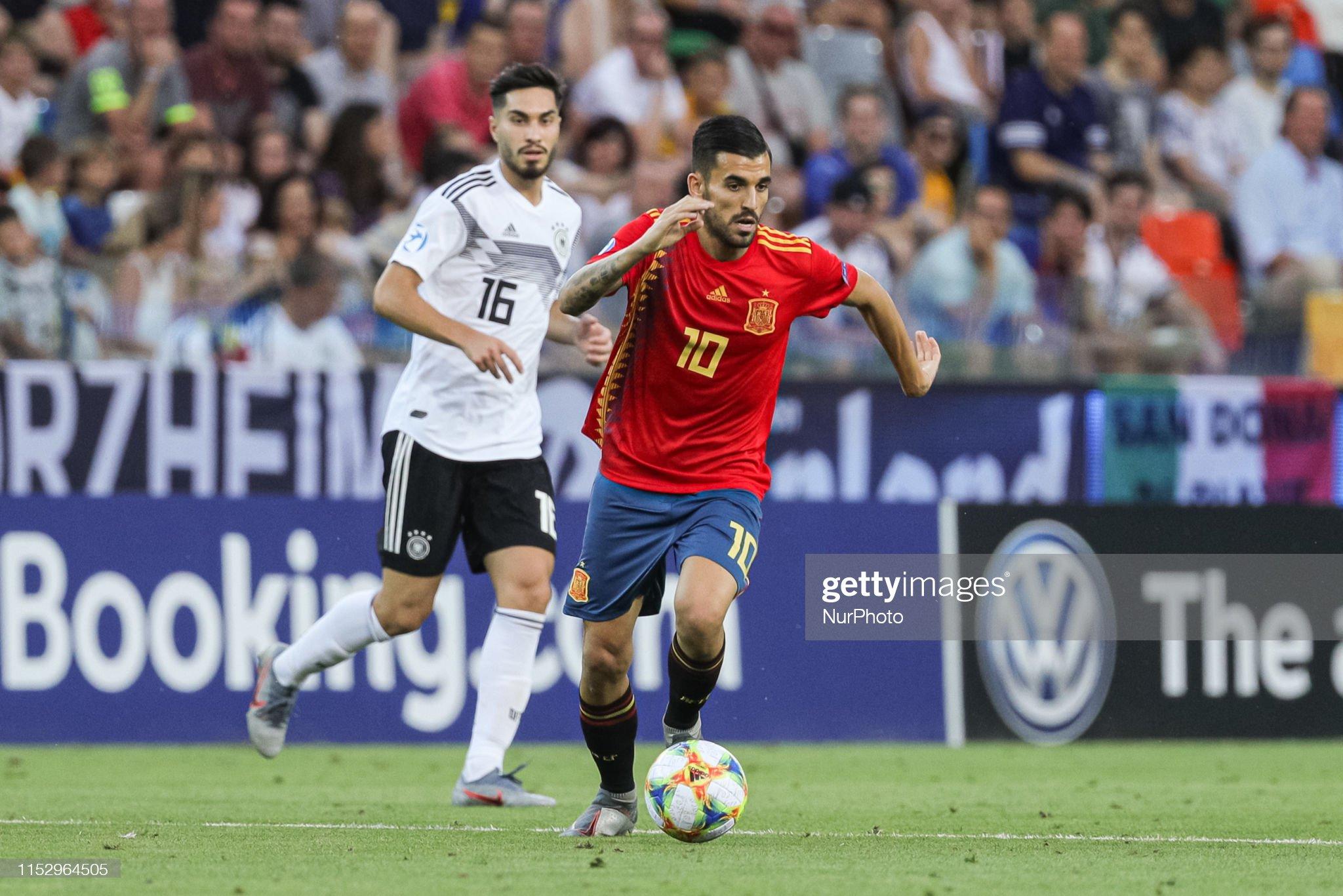 Spain v Germany - Final - 2019 UEFA U-21 Championship : Fotografia de notícias
