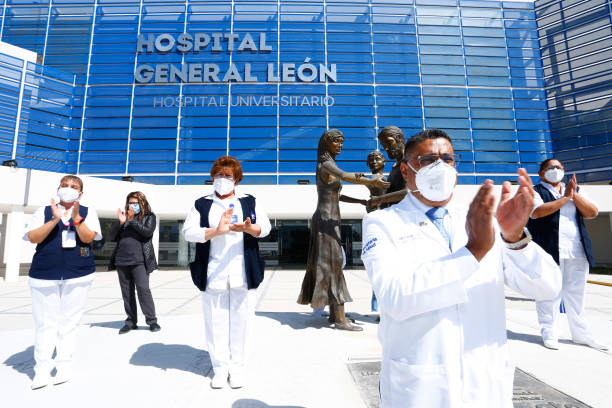 MEX: Hospital General de Leon Honours Frontline Workers Victims of Covid-19