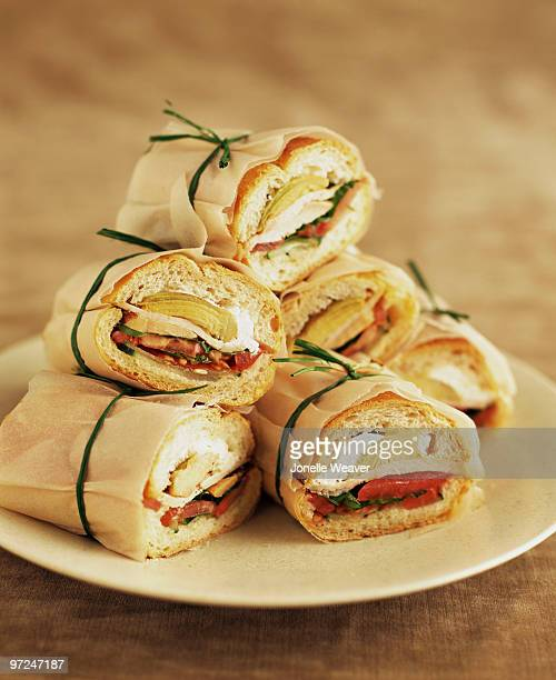 sub sandwiches - grinder sandwich stock pictures, royalty-free photos & images