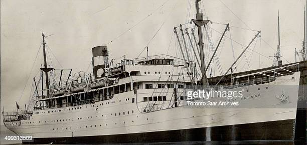Sub turns lights on Canadian liner then Torpedoes her the steppedup German Uboat paign has claimed the Canadian nal Steamships liner Lady kins with a...